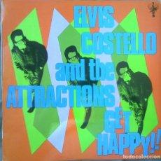 Discos de vinilo: ELVIS COSTELLO - GET HAPPY!! EDICIÓN ESPAÑOLA 1980. Lote 97600523