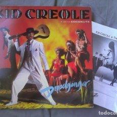Discos de vinilo: KID CREOLE & THE COCONUTS - DOPPELGANGER. EDICIÓN ESPAÑOLA 1983. Lote 97609231