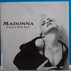 Discos de vinilo: MADONNA - CRAZY FOR YOU - NUEVO ALEMAN. Lote 97609315