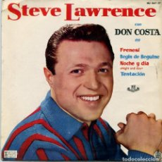 Discos de vinilo: STEVE LAWRENCE / BEGIN THE BEGUINE + 3 (EP 1961). Lote 97609703