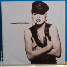 Disques de vinyle: MADONNA - JUSTIFY MY LOVE - NUEVO ALEMAN. Lote 97610495