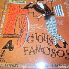 Discos de vinilo: CHOTIS FAMOSOS - AY CIPRIANO/ EL PICHI/ ROSA DE MADRID/ +1 - EP 1959. Lote 97611315