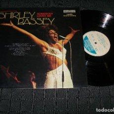 Discos de vinilo: SHIRLEY BASSEY - SOMEBODY LOVES ME - LP DE EDICION CONTOUR - ITALY - 6870-534 - BUEN ESTADO. Lote 97611683