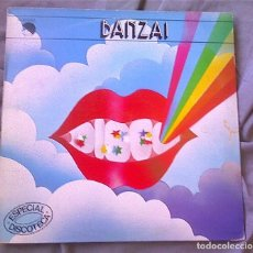 Discos de vinilo: BANZAI (JOSEP Mª BARDAGÍ, JOSEP MAS (KITFLUS). LP PROMOCIONAL 1980. Lote 97611951