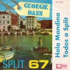 Disques de vinyle: GEORGIE DANN, SG, HOLA MANDINA + 1, AÑO 1967. Lote 97612319