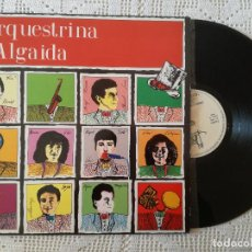 Discos de vinilo: ORQUESTRINA D'ALGAIDA, IDEM (BLAU) LP - GATEFOLD. Lote 97612611