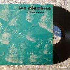 Discos de vinilo: MIEMBROS, LOS - SI VUELVES A ESCAPAR +3 (BLAU) MAXI SINGLE - MOVIDA MALLORCA. Lote 97619291