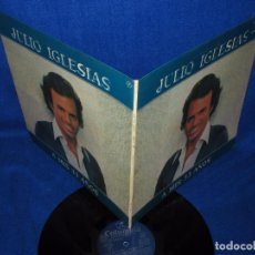 Discos de vinilo: JULIO IGLESIAS - A MIS 33 - LP DOBLE CARPETA CON LAS LETRAS 1977. Lote 97621231