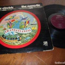 Discos de vinilo: LP - THE ELECTRIC SIDE AND THE ACOUSTIC SIDE- OF TRANSATLANTIC - VARIOS-SPAIN-1972. Lote 97632739