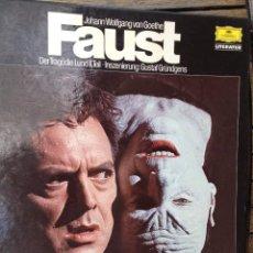 Discos de vinilo: FAUST 1962. Lote 97634855