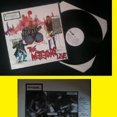 Discos de vinilo: THE METEORS LIVE 1983 - GREAT UK PSYCHOBILLY !! RARA 1ª ORG EDT UK PRESS, TODO EXC !!. Lote 97641387