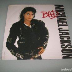 Discos de vinilo: MICHAEL JACKSON - BAD ..LP EDICION ESPECIAL POR SU 20 ANIVERSARIO 2007 - VINILO NUEVO . SONY. Lote 97641483