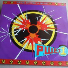 Discos de vinilo: POP WILL EAT ITSELF -DEF.CON ONE VS SUPERPOWERS - EP - 1988. Lote 97644407