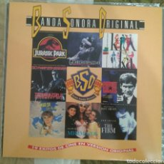 Discos de vinilo: 2 LP BSO BANDA SONORA ORIGINAL (JURASSIC PARK, GUARDAESPALDAS, KIKA...). Lote 97646814