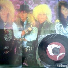 Discos de vinilo: POISON - I WANT ACTION. POSTER SINGLE PROMOCIONAL 1987. Lote 97648151