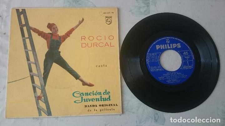 ROCÍO DURCAL: QUISIERA SER UN ANGEL + 3 (PHILIPS 1962) (Música - Discos de Vinilo - EPs - Solistas Españoles de los 50 y 60)