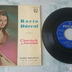 Disques de vinyle: ROCÍO DURCAL: LA REUNIÓN + 3 (PHILIPS 1962). Lote 97650011