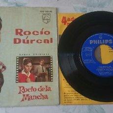 Disques de vinyle: ROCÍO DURCAL: VIVA BUFALO BILL + 3 (PHILIPS 1963). Lote 97650107