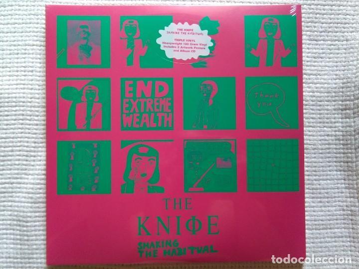 THE KNIFE - '' SHAKING THE HABITUAL '' 3 LP 180GR. + 2 CD + 2 POSTER 2013 EU SEALED (Música - Discos - LP Vinilo - Pop - Rock Extranjero de los 90 a la actualidad)