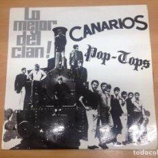Discos de vinilo: LP LO MEJOR DEL CLAN /CANARIOS / POP TOPS EDITADO POR SONO PLAY 1968. Lote 97665571