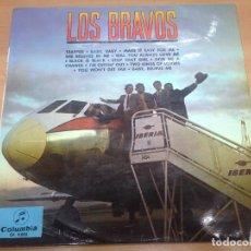 Discos de vinilo: LP LOS BRAVOS / LOS BRAVOS COLUMBIA 1966. Lote 97665871