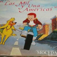 Discos de vinilo: LAS MIL Y UNA AMERICAS-MOCEDADES-SERIE DE TVE. Lote 97666591