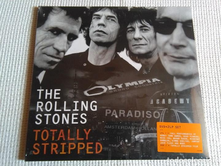 THE ROLLING STONES - '' TOTALLY STRIPED '' 2 LP + DVD 2016 EU SEALED (Música - Discos - LP Vinilo - Pop - Rock Extranjero de los 90 a la actualidad)