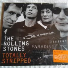 Discos de vinilo: THE ROLLING STONES - '' TOTALLY STRIPED '' 2 LP + DVD 2016 EU SEALED. Lote 97666903