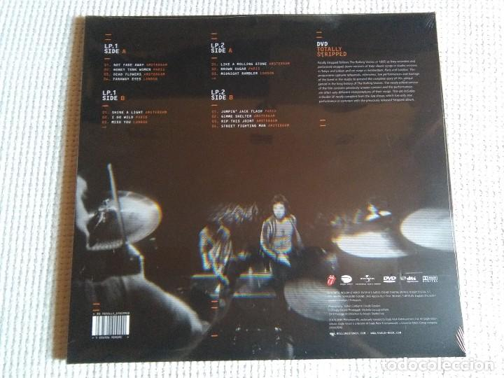 Discos de vinilo: THE ROLLING STONES - TOTALLY STRIPED 2 LP + DVD 2016 EU SEALED - Foto 2 - 97666903