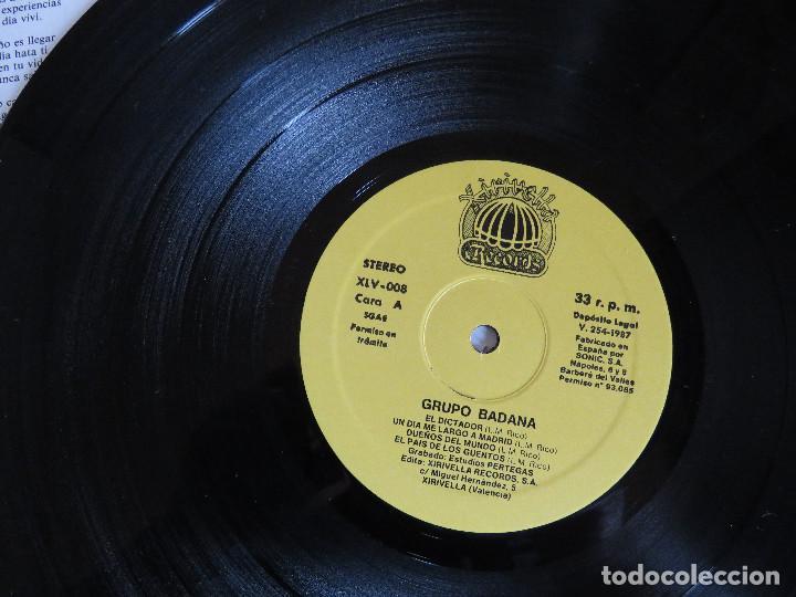 Discos de vinilo: BADANA ROCK DE CLOACA EDICION ORIGINAL 1987 XIRIVELLA RECORDS - Foto 4 - 97669727