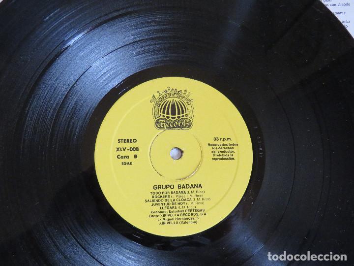 Discos de vinilo: BADANA ROCK DE CLOACA EDICION ORIGINAL 1987 XIRIVELLA RECORDS - Foto 5 - 97669727
