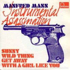 Discos de vinil: MANFRED MANN: INSTRUMENTAL ASSASSINATION: SUNNY + WILD THING + GET AWAY +1. Lote 97672131