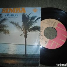 Discos de vinilo: ANTIGUO EP SIMBRA - AFRICA - PORTUGAL . Lote 97679591