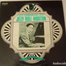 Discos de vinilo: JELLY ROLL MORTON. BEST COLLECTION. RCA. JAPAN. 2 LP. CARPETA ABIERTA. . Lote 97683011