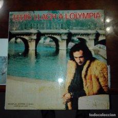 Discos de vinilo: LLUIS LLACH EN EL OLYMPIA. Lote 97684783