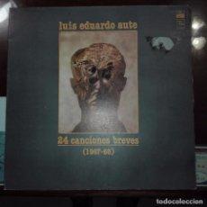 Discos de vinilo: LUIS EDUARDO AUTE- 24 CANCIONES BREVES-1967-1968. Lote 97687563