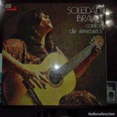 Discos de vinilo: SOLEDAD BRAVO - CANTOS DE VENEZUELA. Lote 97688375