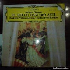 Discos de vinilo: EL BELLO DANUBIO AZUL. Lote 97688811