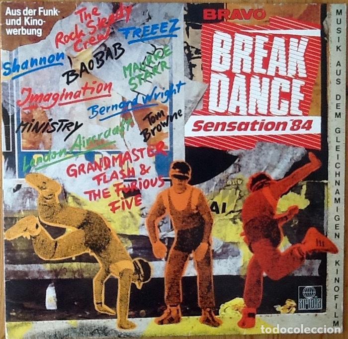 V / A : BRAVO BREAKDANCE SENSATION '84 [DEU 1983] LP - FREEEZ, GRANDMASTER FLASH, ROCK STEADY CREW (Música - Discos - LP Vinilo - Rap / Hip Hop)