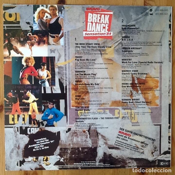 Discos de vinilo: V / A : BRAVO BREAKDANCE SENSATION 84 [DEU 1983] LP - FREEEZ, GRANDMASTER FLASH, ROCK STEADY CREW - Foto 2 - 97689215