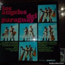 Discos de vinilo: LOS ANGELES DEL PARAGUAY. Lote 97691703