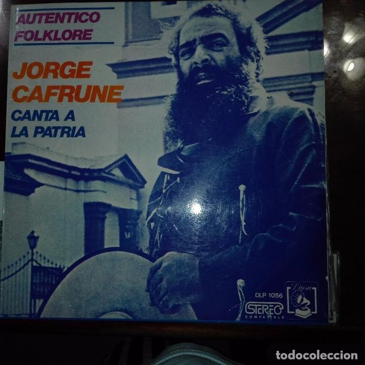 JORGE CANTA A LA PATRIA (Música - Discos - Singles Vinilo - Étnicas y Músicas del Mundo)