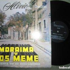 Discos de vinilo: ANTIGUO LP MORAIMA Y LOS MEME ORQUESTA 40 PROFESIONALES - ALIVIO - SONIDISC . Lote 97693271