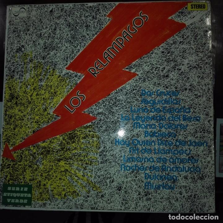 LOS RELAMPAGOS - DOS CRUCES - ZAFIRO 1972 (Música - Discos - Singles Vinilo - Grupos Españoles de los 70 y 80)