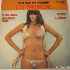 Discos de vinilo: LOS BARBACOAS. A RITMO DE CUMBIA. 1979. ARGENTINA. VINILO EXCELENTE.. Lote 97693763