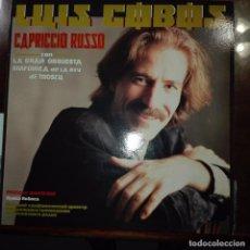 Discos de vinilo: LUIS COBOS- CAPRICHO RUSO. Lote 97694043