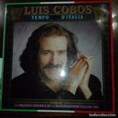 Discos de vinilo: LUIS COBOS- TEMPO DE ITALIA. Lote 97694099