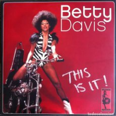 Discos de vinilo: BETTY DAVIS - THIS IS IT - 2 LP VAMPI SOUL 2005 - VAMPI 055. Lote 97694683