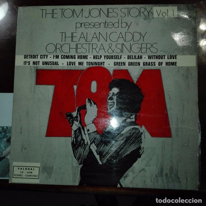 THE TOM JONES STORY- DISCO CON PORTADA DIFICIL (Música - Discos de Vinilo - Maxi Singles - Pop - Rock Internacional de los 70)