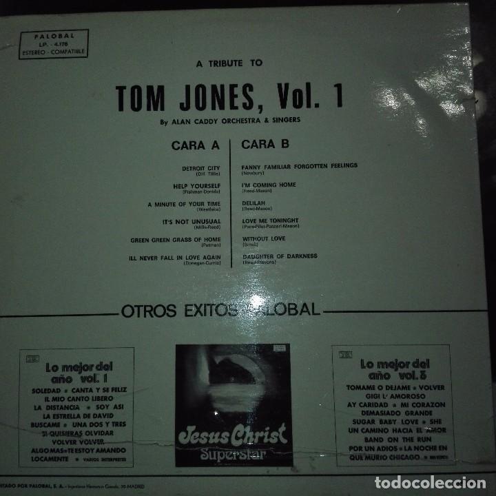 Discos de vinilo: THE TOM JONES STORY- DISCO CON PORTADA DIFICIL - Foto 2 - 97701503